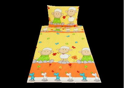 Ovečka žlutá ( bavlna dětská) 90x135 II. Jakost