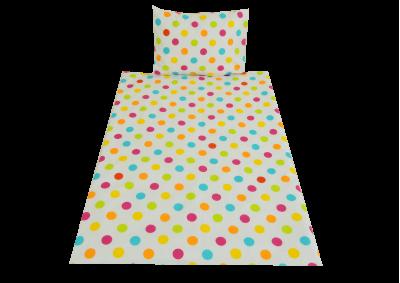 Barevné puntíky (dětská bavlna)