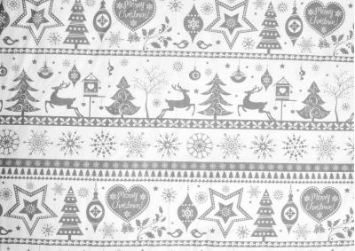 Vánoční motiv 3 bavlna metráž