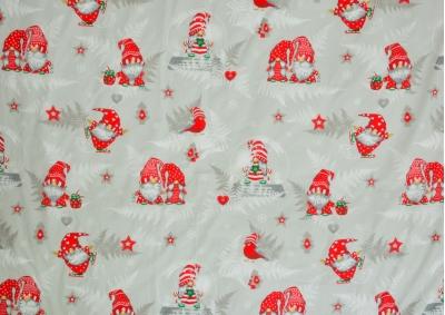 Vánoční motiv 4 bavlna metráž