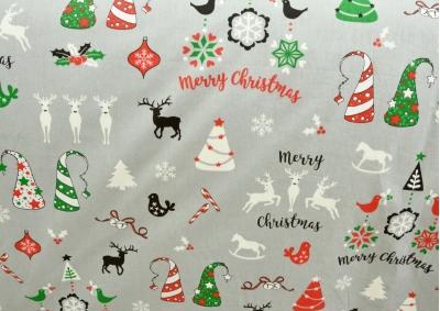 Vánoční motiv 5 bavlna metráž
