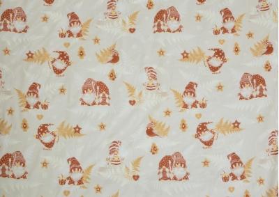 Vánoční motiv 6 bavlna metráž