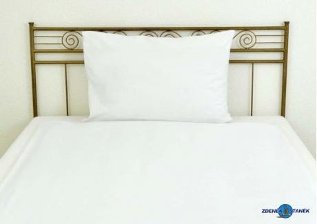 Ložní povlečení bavlna LUX Bílá 130g/m2